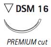 DSM16: 4/0 - <b>45cm</b> (24 pcs)