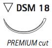 DSM18 4/0 - <b>70 cm</b> (24 pcs)